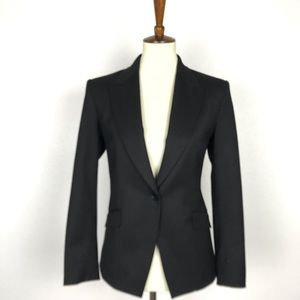 Theory Single Breast Wool Stretch Lined Blazer